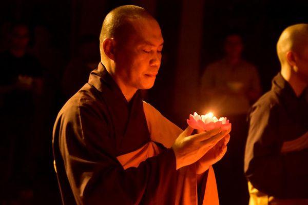 Tu viện Khánh An hướng về miền Trung
