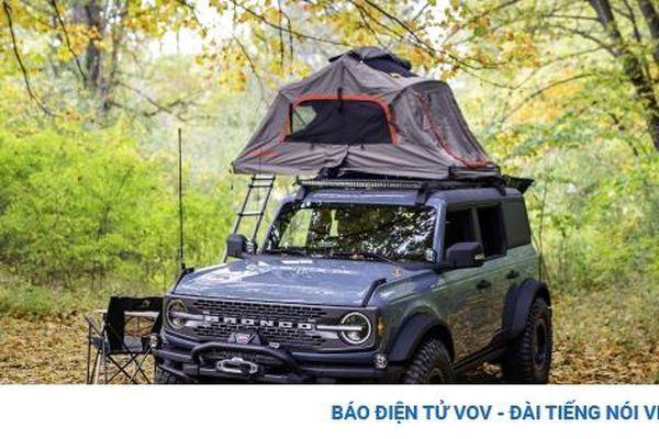 Ngắm Ford Bronco với gói nâng cấp cho người thích cắm trại