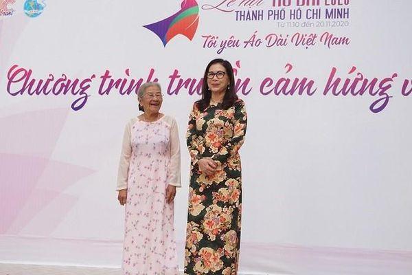 Nghệ sĩ Phi Điểu, Kim Xuân truyền cảm hứng áo dài cho HS