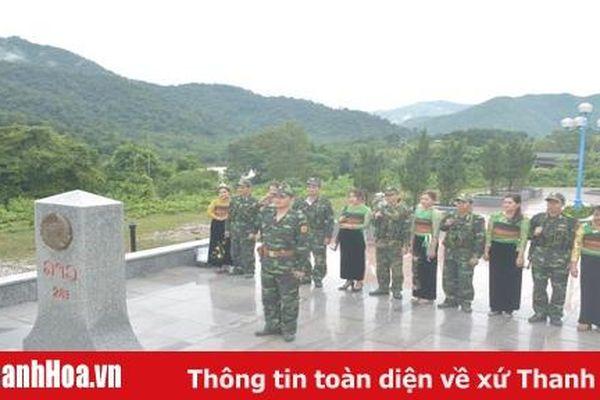 Phụ nữ thị trấn Mường Lát tích cực tham gia bảo vệ chủ quyền an ninh biên giới