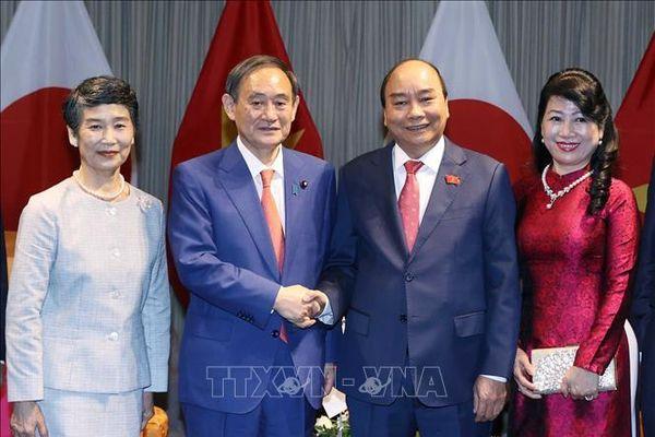 Truyền thông Nhật Bản phản ánh đậm nét chuyến thăm Việt Nam của Thủ tướng Suga Yoshihide
