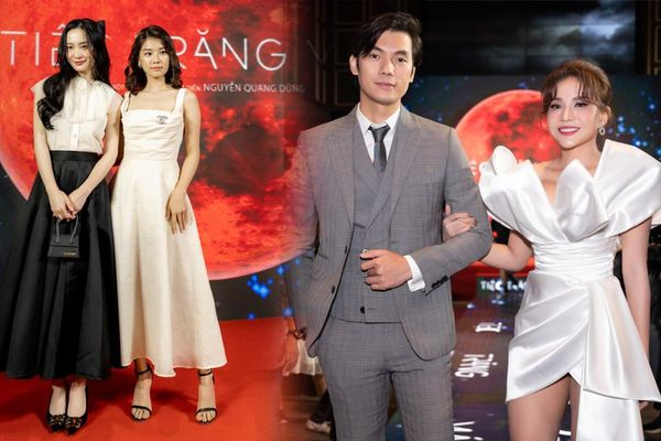 Jun Vũ, Hoàng Yến Chibi, Khả Như và dàn sao Việt nô nức tham dự buổi ra mắt 'Tiệc trăng máu'