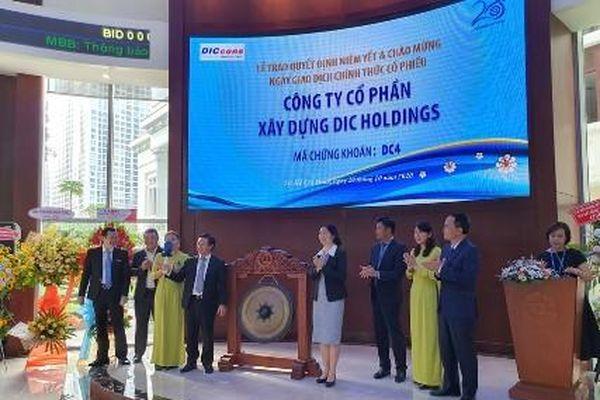 30 triệu cổ phiếu DC4 chính thức chào sàn HOSE