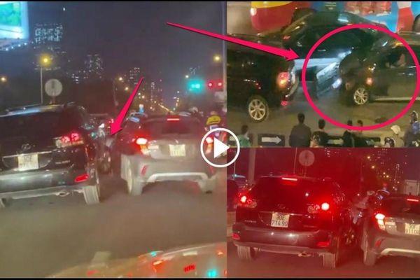 Vinfast Fadil và Lexus RX 350 rượt đuổi như phim hành động: Công an vào cuộc