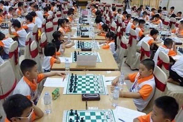 Khai mạc Giải Vô địch cờ vua trẻ xuất sắc toàn quốc năm 2020 tranh Cúp SHB