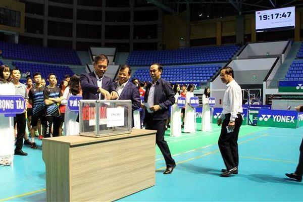 Hơn 100 VĐV dự Giải cầu lông cá nhân toàn quốc Yonex 2020