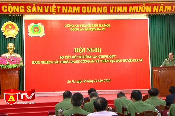 Lực lượng công an xã phát huy vai trò nòng cốt tại cơ sở