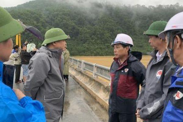 Hồ Tả Trạch - phòng tuyến cắt lũ hiệu quả, giảm ngập lụt vùng hạ du