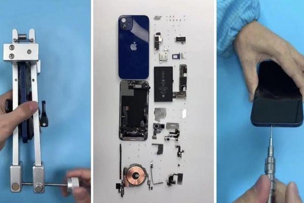 Mổ bụng iPhone 12: màn hình mỏng hơn, modem 5G X55 của Qualcomm, pin nhỏ hơn