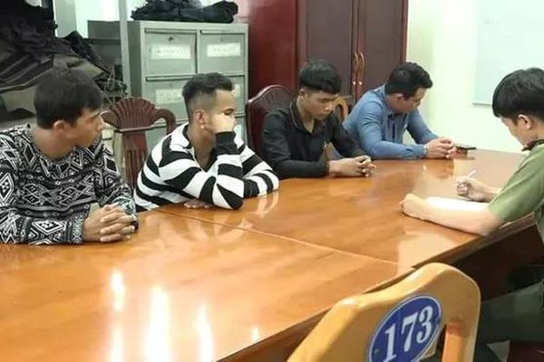 Bắt giữ nhóm thanh niên trộm tài sản, đòi bảo kê thi công cao tốc