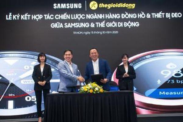 Khi Thế Giới Di Động hợp tác chiến lược với Samsung?