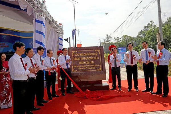 Phú Thọ phấn đấu trở thành tỉnh phát triển hàng đầu của vùng trung du và miền núi phía bắc