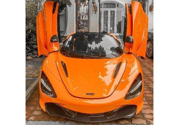 'Soái ca' Sài thành tặng vợ siêu xe McLaren 720S Spider hơn 23 tỷ