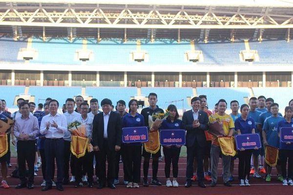 Khai mạc Press Cup 2020 khu vực phía Bắc, phát động ủng hộ đồng bào miền Trung
