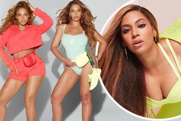 Beyonce rực lửa với đường cong đẫy đà