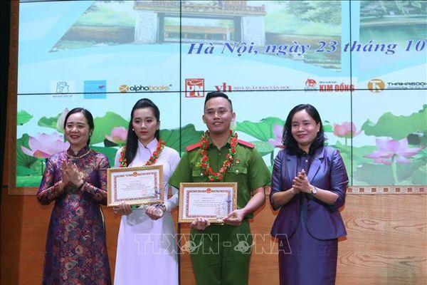 Trao giải thưởng Cuộc thi Đại sứ Văn hóa đọc năm 2020