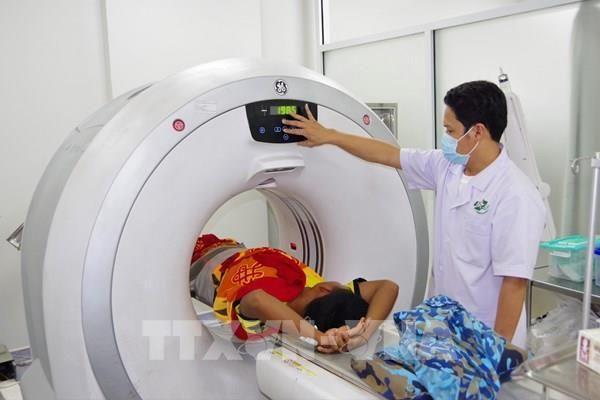 Bệnh viện Đa khoa Khánh Hòa tiếp nhận hệ thống chụp mạch máu số hóa
