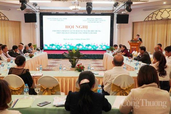 Quảng Ninh: Phổ biến pháp luật về bảo vệ quyền lợi người tiêu dùng