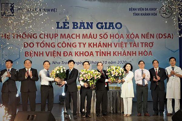 KHATOCO tài trợ thiết bị y tế cho Bệnh viện Đa khoa tỉnh Khánh Hòa