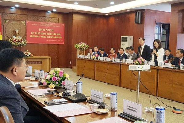 Khánh Hòa: Thêm cơ hội mở rộng hợp tác đầu tư với doanh nghiệp Hàn Quốc