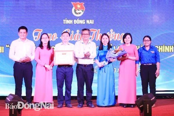 Chi đoàn Sở Tư pháp đoạt giải Nhất hội thi Tuổi trẻ Đồng Nai chung tay CCHC