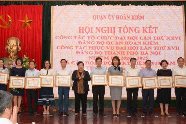 Quận Hoàn Kiếm tổng kết công tác tổ chức, phục vụ đại hội Đảng
