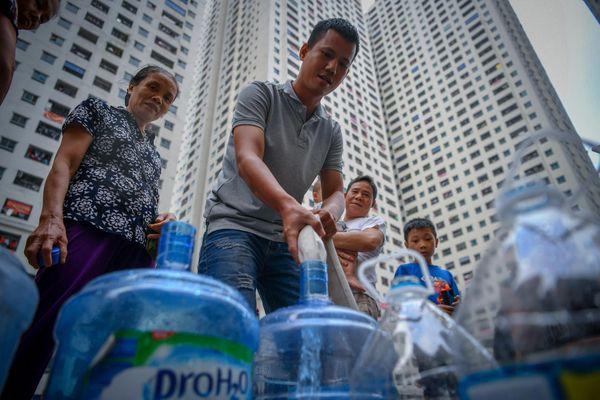 6 quận ở TP.HCM bị cúp nước