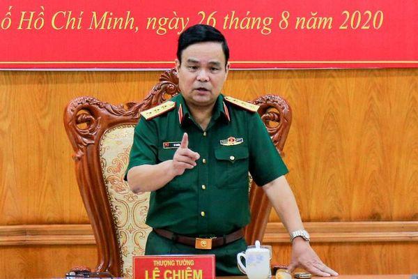 Tướng Lê Chiêm phụ trách mảng việc nào ở Bộ Quốc Phòng?