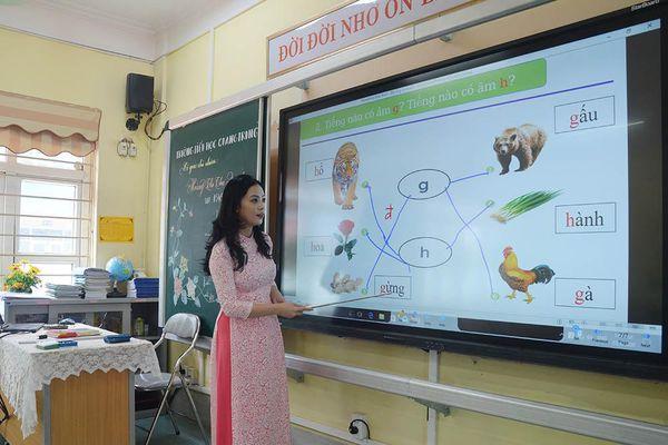 Linh hoạt giảng dạy chương trình, SGK lớp 1 mới
