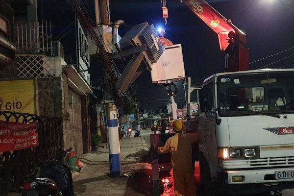 Bình Dương: Truy đuổi chiếc xe tải gây mất điện cả khu vực