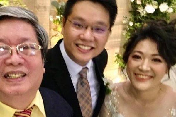 Bình phục sau tai biến, nhạc sĩ Vũ Hoàng cưới vợ cho con
