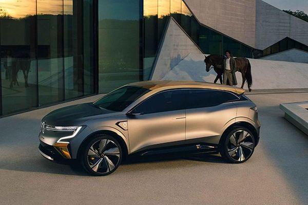 Xem trước Renault Megane eVision, 'đối thủ' Wolkswagen ID.3