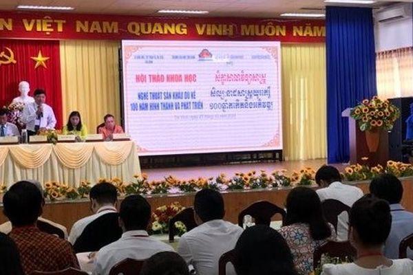 Tạo sức hấp dẫn mới cho sân khấu Dù Kê của người Khmer Nam Bộ