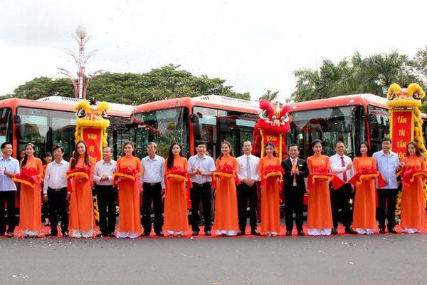 Đồng Tháp: Khai trương 9 tuyến xe buýt đáp ứng nhu cầu đi lại của người dân