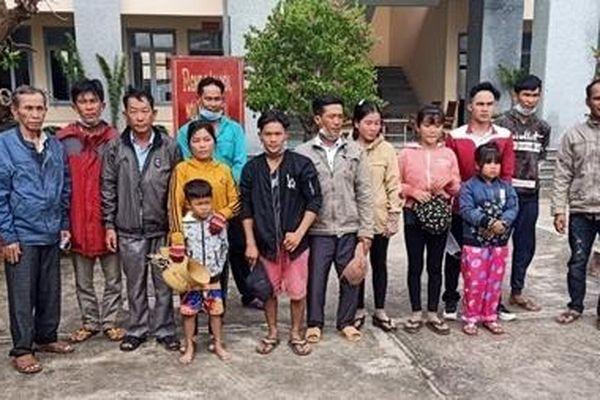 Ngăn chặn 16 người nhập cảnh trái phép vào Việt Nam