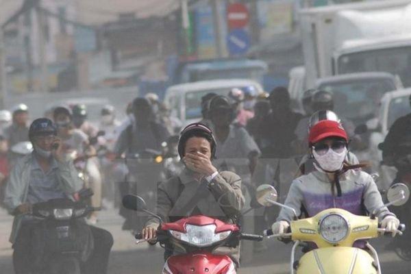 Tuần qua, chất lượng không khí ở Hà Nội tăng, giảm thất thường