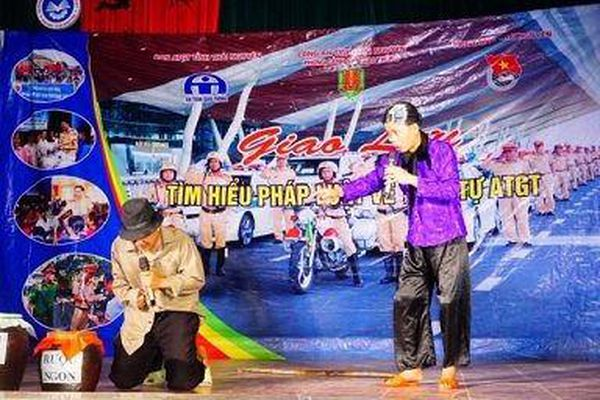 Thái Nguyên: Trên 3.000 học sinh được tuyên truyền về an toàn giao thông