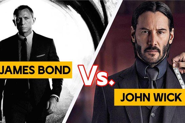 John Wick vs. James Bond (007): Sát thủ nào sẽ chiến thắng ?