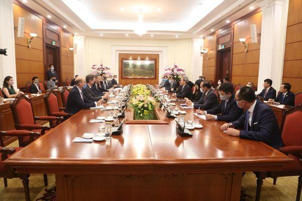 Hoa Kỳ đẩy mạnh đầu tư tư nhân vào dự án cơ sở hạ tầng tại Việt Nam