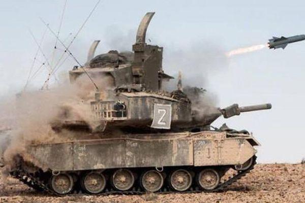 Loại xe tăng kỳ lạ có pháo nhưng chỉ để 'làm cảnh' của Israel
