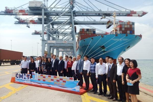 Cảng quốc tế Cái Mép đón tàu container lớn nhất thế giới