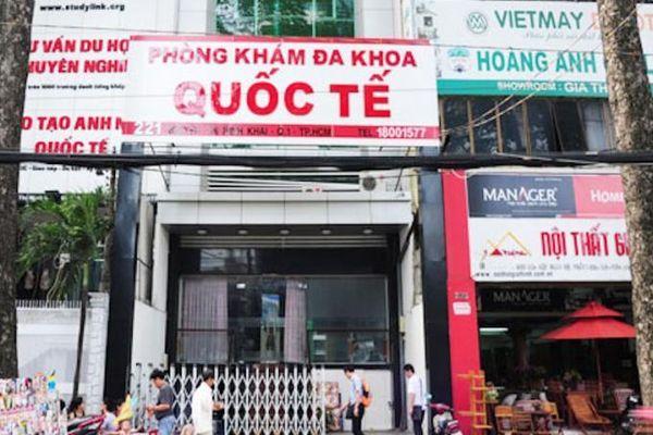 Phòng khám Đa khoa Quốc tế bị xử phạt gần 165 triệu đồng