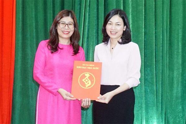 Bà Phạm Thị Hồ Lan giữ chức Giám đốc Kho bạc Nhà nước Khánh Hòa