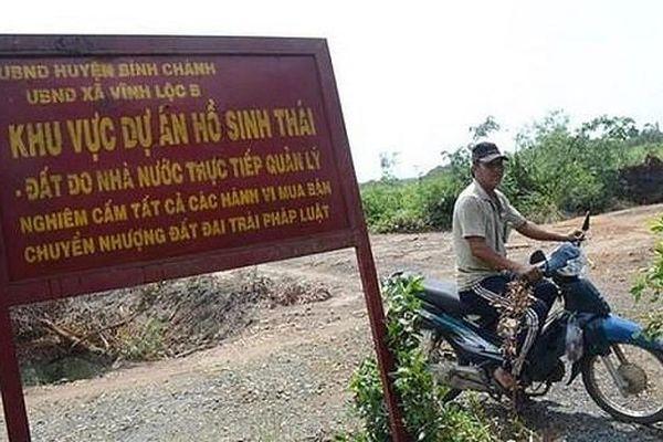Sai phạm của Sagri tại dự án Khu Sinh thái Văn hóa hồ Vĩnh Lộc