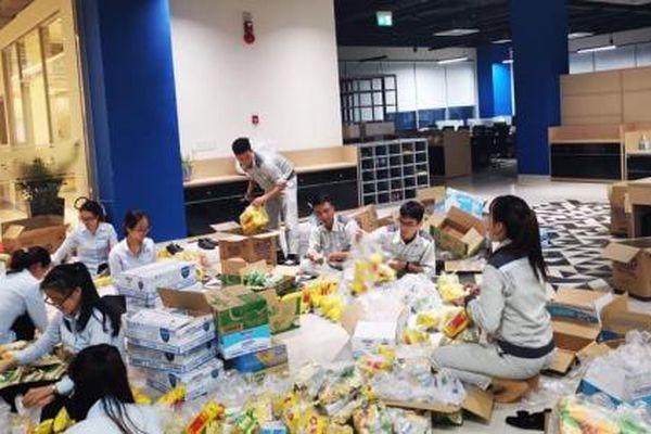 Hòa Phát - Dung Quất đón hơn 2.000 người dân tránh trú bão