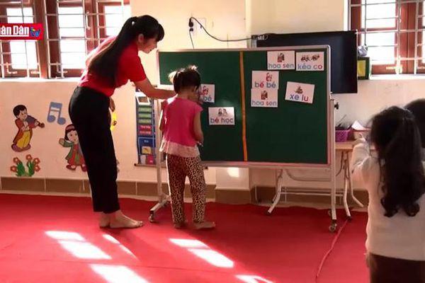 Tăng cường vốn tiếng Việt cho trẻ em dân tộc thiểu số tại Quảng Ninh