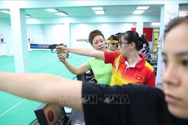Bắn súng Việt Nam đặt mục tiêu giành 6 huy chương vàng tại SEA Games 31