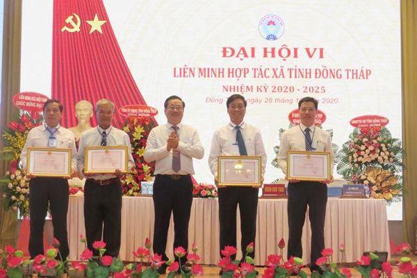 Ông Nguyễn Văn Hiếu tái đắc cử Chủ tịch Liên minh HTX tỉnh Đồng Tháp