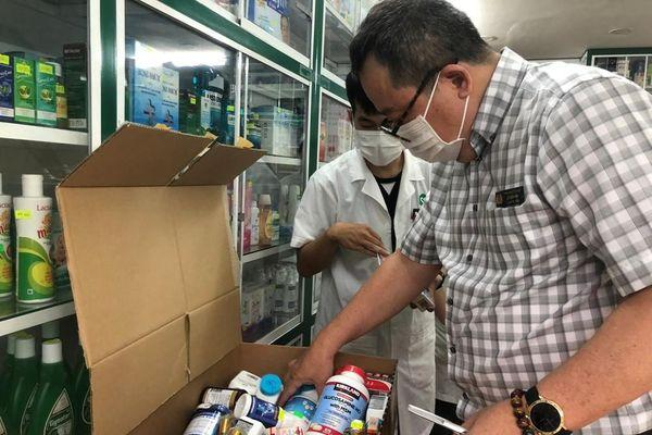 TPHCM: Đột kích nhà thuốc, phát hiện nhiều thực phẩm chức năng không rõ nguồn gốc