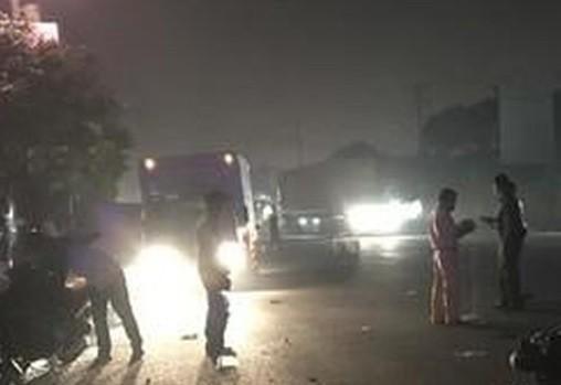 Xe khách mất lái, 4 người thương vong